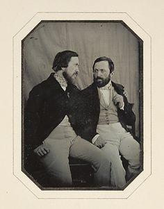 RITRATTO DI PAUL E HIPPOLYTE FLANDRIN , CA. 1848-1849, CHABROL    IL J. PAUL GETTY MUSEUM, LOS ANGELES, 84.XT.265.17