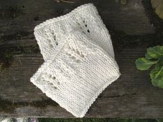 Hand knitted boot cuffs/leg warmers - practical, warm and very cozy.  Knitted…