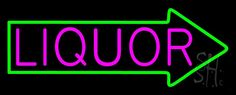Liquor With Arrow Neon Sign 13 Tall x 32 Wide x 3 Deep, is 100% Handcrafted with Real Glass Tube Neon Sign. !!! Made in USA !!!  Colors on the sign are Pink and Green. Liquor With Arrow Neon Sign is high impact, eye catching, real glass tube neon sign. This characteristic glow can attract customers like nothing else, virtually burning your identity into the minds of potential and future customers.