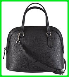 ef9507098c56 Gucci Women's Black Textured Leather Convertible Mini Dome Purse - Top  handle bags (*Amazon Partner-Link)