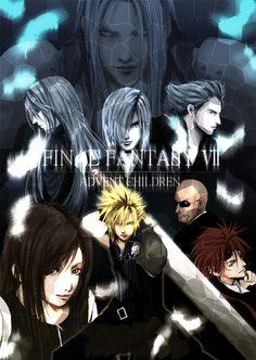 FF7: Advent Children Final Fantasy Cloud, Final Fantasy Vii Remake, Fantasy Series, Fantasy World, Anime Fantasy, Cloud And Tifa, Cloud Strife, Tifa Lockhart, Nerd Love