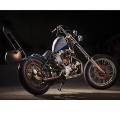 Ironhead chopper via jaycagney