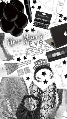 new year Eve Outfit | ShopLook Nye Outfits, New Years Eve Outfits, Black Lipstick, Black Apple, Apple Laptop, Outfit Maker, Bullet Journal, Red