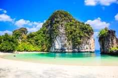 Phuket Krabi Tour: ⭐Renowned for its majestic limestone cliffs, heavenly isles, and glorious mangrove forests, Krabi is a coveted Thai tourist destination. Thai Islands, Top Tours, Mangrove Forest, Krabi Thailand, Beaches In The World, Paradise Island, Most Beautiful Beaches, Luxury Holidays, Beach Fun