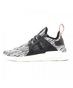 519d6fa8f5cb7 Adidas NMD XR1 Ftwr White Core Black Semi Solar Red Shoes S32216