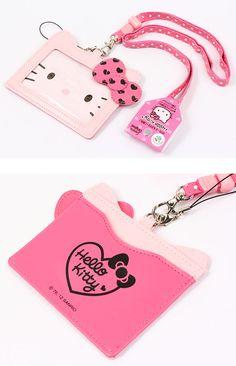 Hello Kitty Lanyard Card Holder
