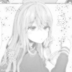 Gothic Anime, Manga Girl, Manga Anime, Dark Anime Girl, Chicas Punk Rock, Fille Gangsta, Anime Monochrome, Look Man, Cute Profile Pictures