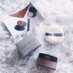 Received this from @influenster as a complimentary item to try and review on. So far I'm loving my @lauramercier translucent powder. #NoFlashback #powdertothepeople #contest.