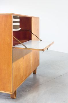 Cees Braakman cabinet CB01 Combex circa 1950   20th century Modern online gallery. Featuring a large and varied selection of quality vintage pieces   Shipping worldwide   http://www.furniture-love.com/furniture/