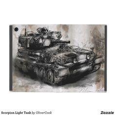 Scorpion Light Tank iPad Mini Covers