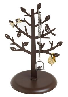 What a Tree-t Jewelry Stand - Brown,   #Dorm #Decor #Modcloth