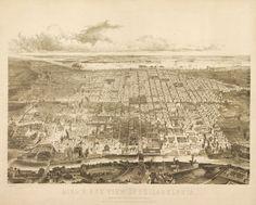 Old map of Philadelphia Pennsylvania 1857 https://www.etsy.com/listing/68509739/vintage-map-philadelphia-pennsylvania?ref=shop_home_active_3&ga_search_query=Philadelphia #UniversityofPennsylvania