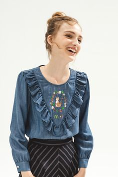 Purretty Top - Miss Patina - Vintage Inspired Fashion
