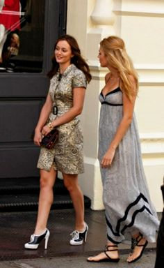 Blake Lively's dress! And pretty much everything Serena wears in GG