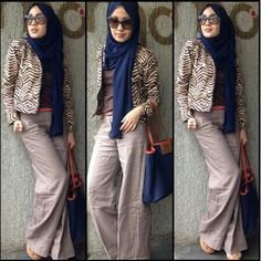 Hijab Fashion 2016/2017: #hijab#muslimah fashion