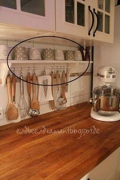 If you have a small house your kitchen would be small too? Usually, a small kitchen seems crowded! If you don't want this, learn these clever hacks and products for a small kitchen.