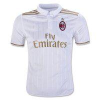 Ac Milan 2016-17 Season Away Soccer Jersey