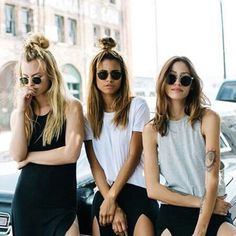 Too cool for school. #inspiration #hair #halfbun #fashion #fashionchick #weekend #fun #friends