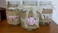 Jar, Crafts, Home Decor, Jute, Room Decor, Jars, Crafting, Handmade Crafts, Diy Crafts