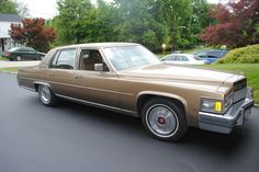 Beautiful 1979 Cadillac Brougham for sale, Gold, for sale in Monroeville, Pennsylvania, for $5,500. http://www.classiccar.com/cadillac/brougham/beautiful-1979-cadillac-brougham-for-sale_35261/?pageCount=38&page=3&limit=34&back=cadillac%2F