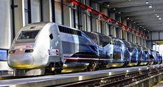 Le 3 avril 2007, le T.G.V POS 4402 atteint la vitesse de 574,8 km/h, nouveau record du monde sur rail, sur la L.G.V. Est.