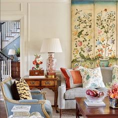 A Place to Call Home: Timeless Southern Charm - Decoration, Room Decoration, Decoration Appartement, Home Decor, Bedroom Decor House Colors, Interior Design, House Interior, Living Decor, Interior, Room Design, Room Decor, Living Room Decor, Home Decor
