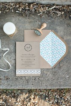 Invitaciones de boda originales - All Lovely Party