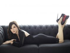Alicia Florrick or Jane Rose. Holy mother! Look at those shoes!