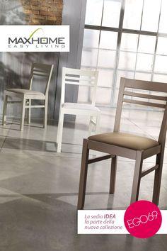 IDEA incarna tutta l'essenza di una seduta comoda ed accogliente, con uno stile incredibilmente versatile.
