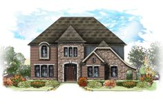 The 2014 Centerpiece Home - Marshall French Manor | Fischer Homes