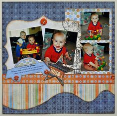 kiwi lane layouts | Designed by Shiloh Jorgensen using Chestnut Drive, Strips, PhotoMattes ...