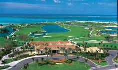 Aerial View of the One&Only Ocean Club, Paradise Island, Bahamas