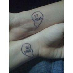 awesome Friend Tattoos - unique Friend Tattoos - nice Friend Tattoos - best friend tattoos for girls &#82...