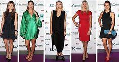 Looking good, ladies!  #WTA stars shined at the Singapore Tennis Evening at Marina Bay Sands!  #Fashion #WTAFinals
