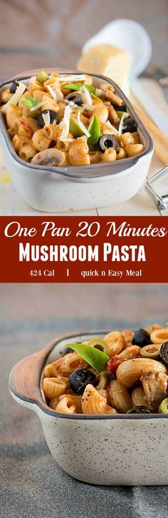 One pan mushroom pasta, healthy, quick and delicious, on your plate in 20 minutes. This Pasta alla puttanesca is perfect meal for busy weeknight or lazy day lunch or brunch. First let us discuss the interesting Italian sauce known as 'sugo alla puttanesca' which in Italian means liquidy sauce like tomato and salty because of use of capers, olives, chillies and garlic. There is an interesting story about discovery of Alla puttanesca, traditionally alla puttanesca is made with spaghetti but…