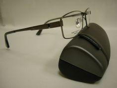 Giorgio Botto Men's Ultra Lite Titanium Optical Eyeglass Frame GB2448-55 - Gray