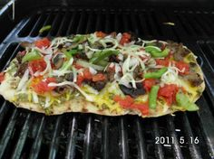 Grilled Mexican Pizza