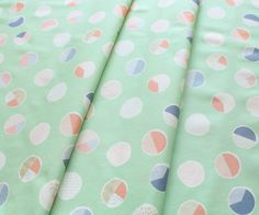 Art Gallery Fabrics Wonderful Things Sweet Bubbles Mint
