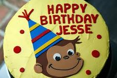 Image result for curious george cakes