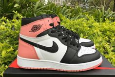 "reputable site 0d70c b6b53 2018 Air Jordan 1 Retro High OG GS ""Rust Pink"""
