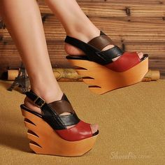 New Summer Unique Hollow-outs Wedge Sandals