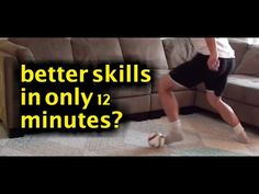 Can you really get better football skills in only 12 minutes? Believe it and click here to get started: https://www.youtube.com/watch?v=lfT3qjkgH5s
