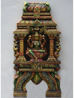 Kavadi Vidhya Saraswathi in wood Philippines House Design, Home Decor Hooks, Hand Carved, Carved Wood, Philippine Houses, Human Sculpture, Pooja Rooms, Indian Home Decor, Indian Gods
