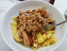 Pork Shoulder Ragu. Friends served it for dinner and I (JCP) can vouch for how great it is!