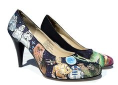 Star wars shoes.  This could go in my shoe fetish but seems more Star Wars boardy