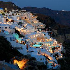 Santorini. Will be going here someday.