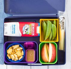 Fast and healthy school lunch ideas and tips! These make ahead lunch ideas save you time and effort!   www.kristineskitchenblog.com