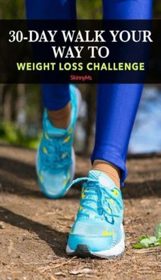 The Walk Your Way to Weight Loss Challenge will train your body to become more active, allowing you to lose more weight and feel healthier. Weight Loss Workout Plan, Weight Loss Challenge, Weight Loss Meal Plan, Weight Loss Program, Weight Loss Transformation, Best Weight Loss, Healthy Weight Loss, Healthy Food, Healthy Recipes