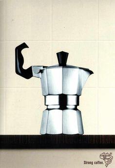 Advertising coffee