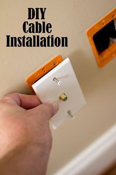 diy tutorial how to fix a loose electrical outlet electrical rh pinterest com TV Cable Connectors Cable TV Service